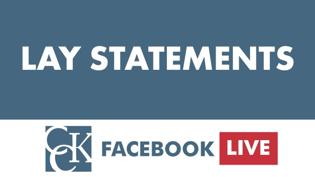 How to Use Lay Statements & Buddy Statements