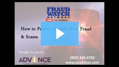 How to Protect Yourself from Fraud and Scams Webinar May 2017