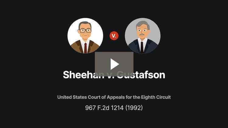 Sheehan v. Gustafson