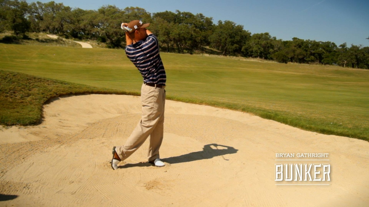 Bunkers: Good Set-up and Finish in Fairway Bunker