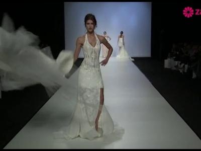 Desfile de vestidos de noiva desmontáveis Jordi Dalmau 2014