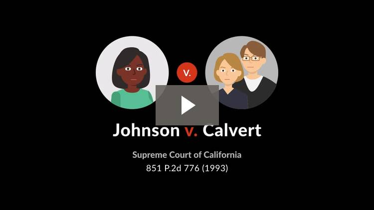 Johnson v. Calvert