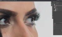Thumbnail for Hair Retouching and Masking / The Natural Edge Eyelashes