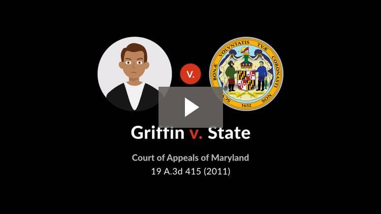 Griffin v. State