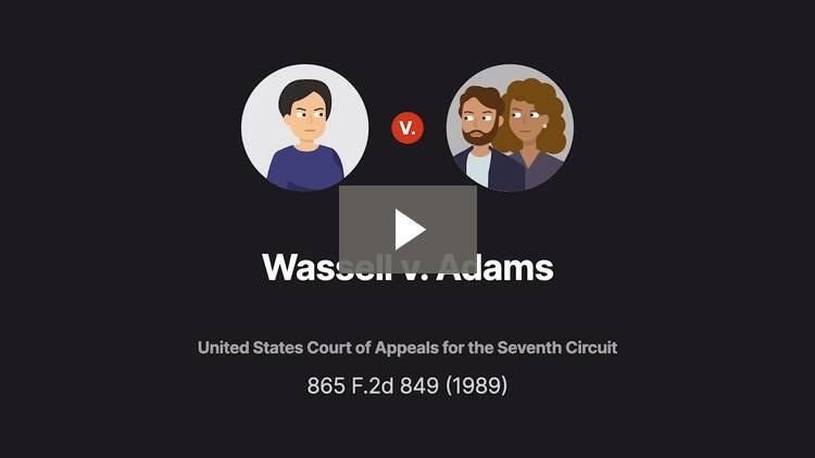 Wassell v. Adams
