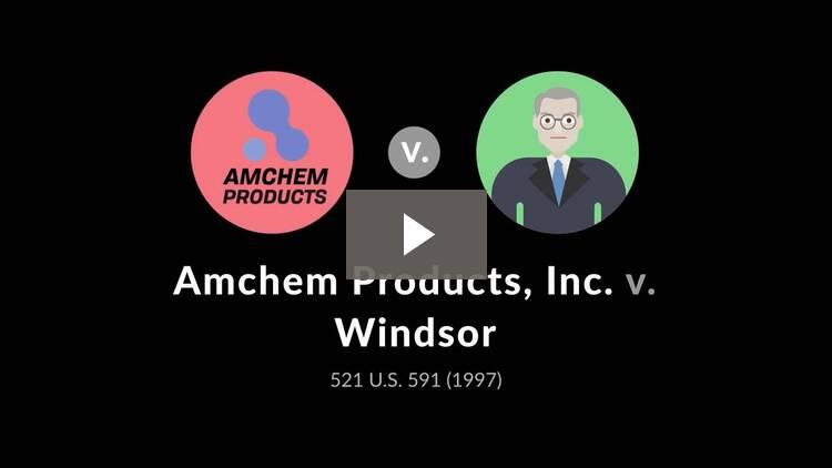Amchem Products, Inc. v. Windsor