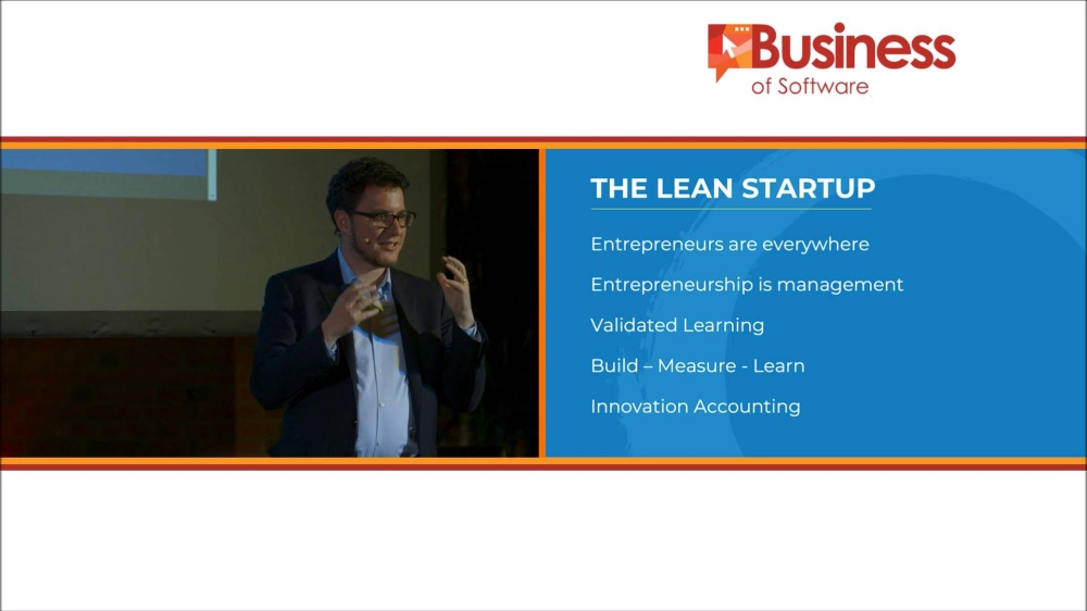 Eric Ries at Business of Software - The Startup Way