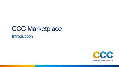 Marketplace Introduction