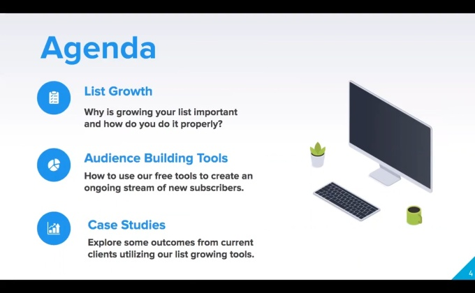 Webinar: Rapidly Grow Your Subscriber List with Our Free Tools