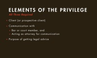 Attorney-Client Privilege thumbnail