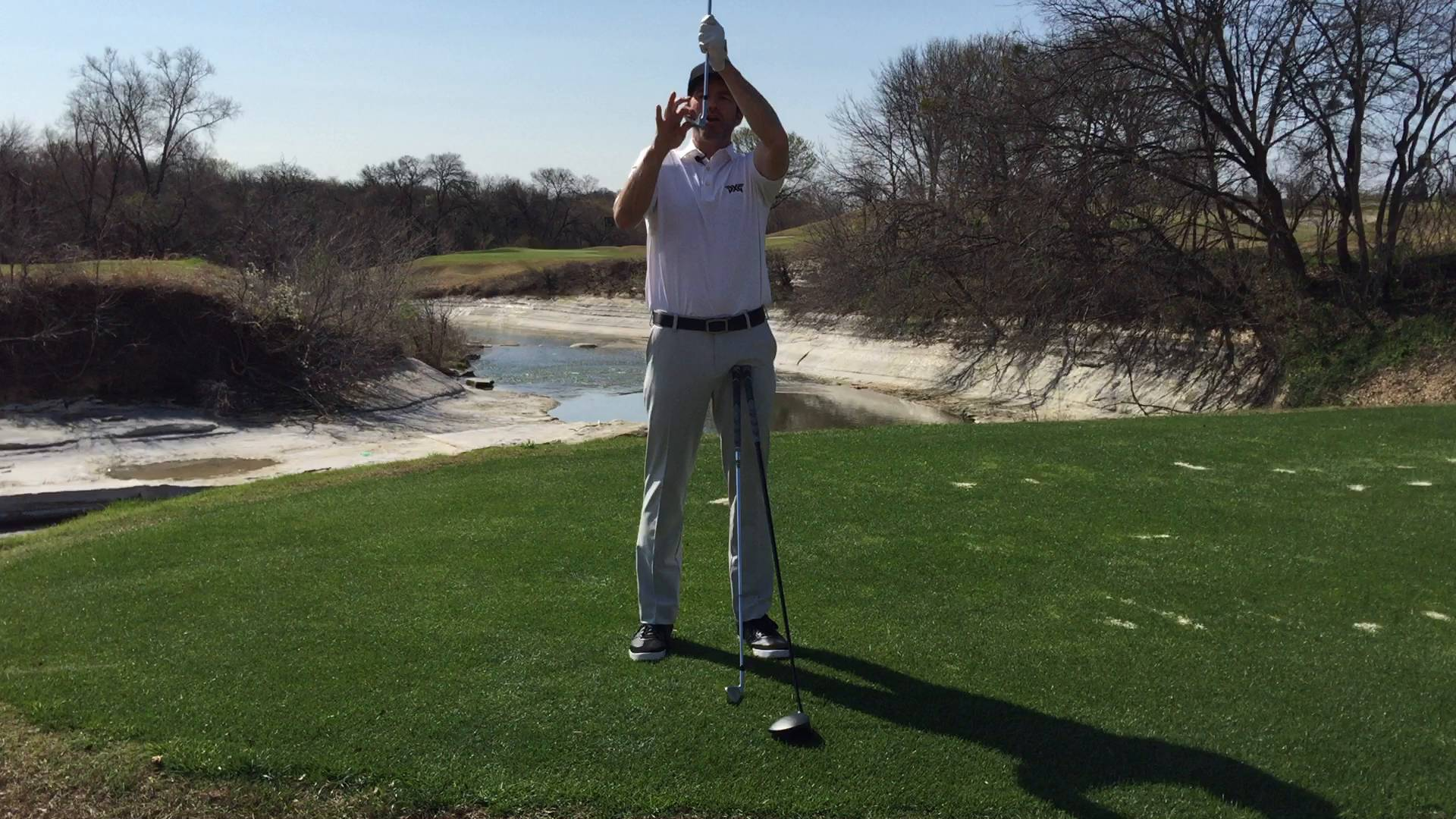 Golf Fundamentals: Ball Setup