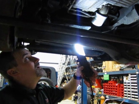Land Rover Discovery 2 Oil Change Process