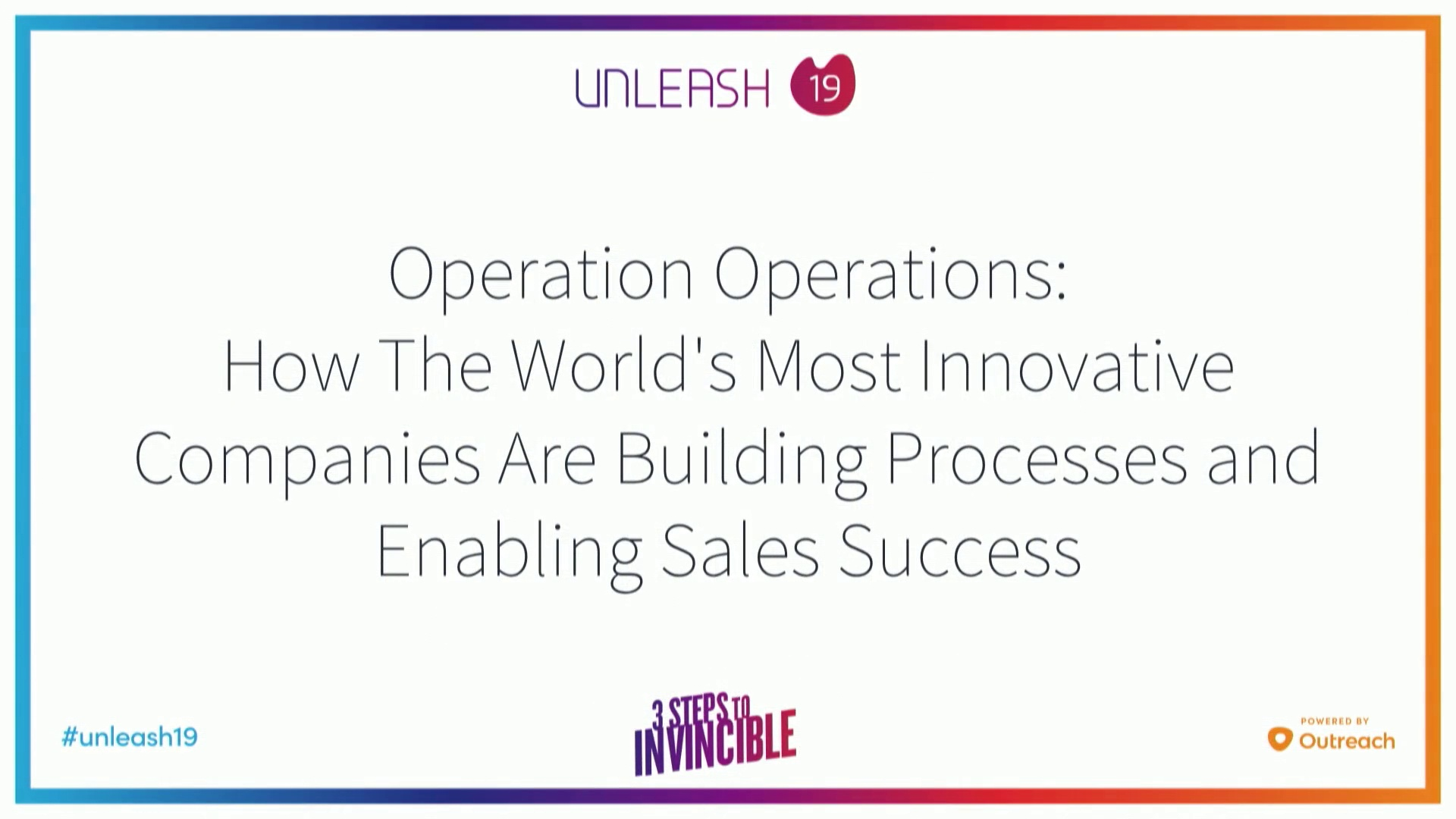 Operation Operations How The World's Most Innovative Companies Are Building Processes and Enabling Sales Success - Marcus Bening, Jason Paquette, AJ Ghandi