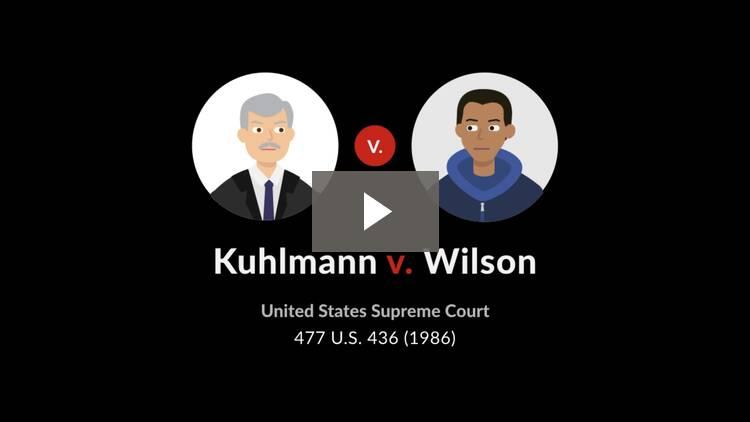 Kuhlmann v. Wilson