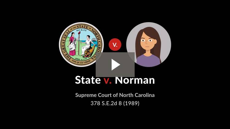 State v. Norman