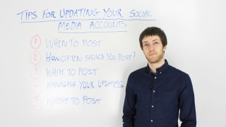 Top Tips For Updating Your Social Media Accounts