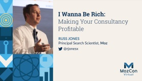 I Wanna Be Rich: Making Your Consultancy Profitable