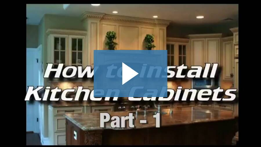 How To Install Kitchen Cabinets - Part 1 of 6