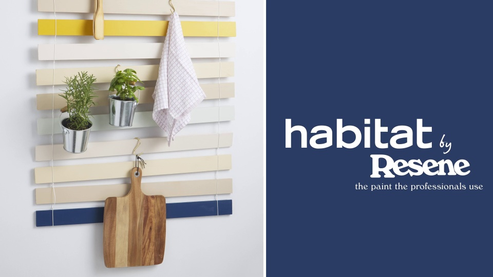 Habitat TV Video: DIY slatted kitchen organiser
