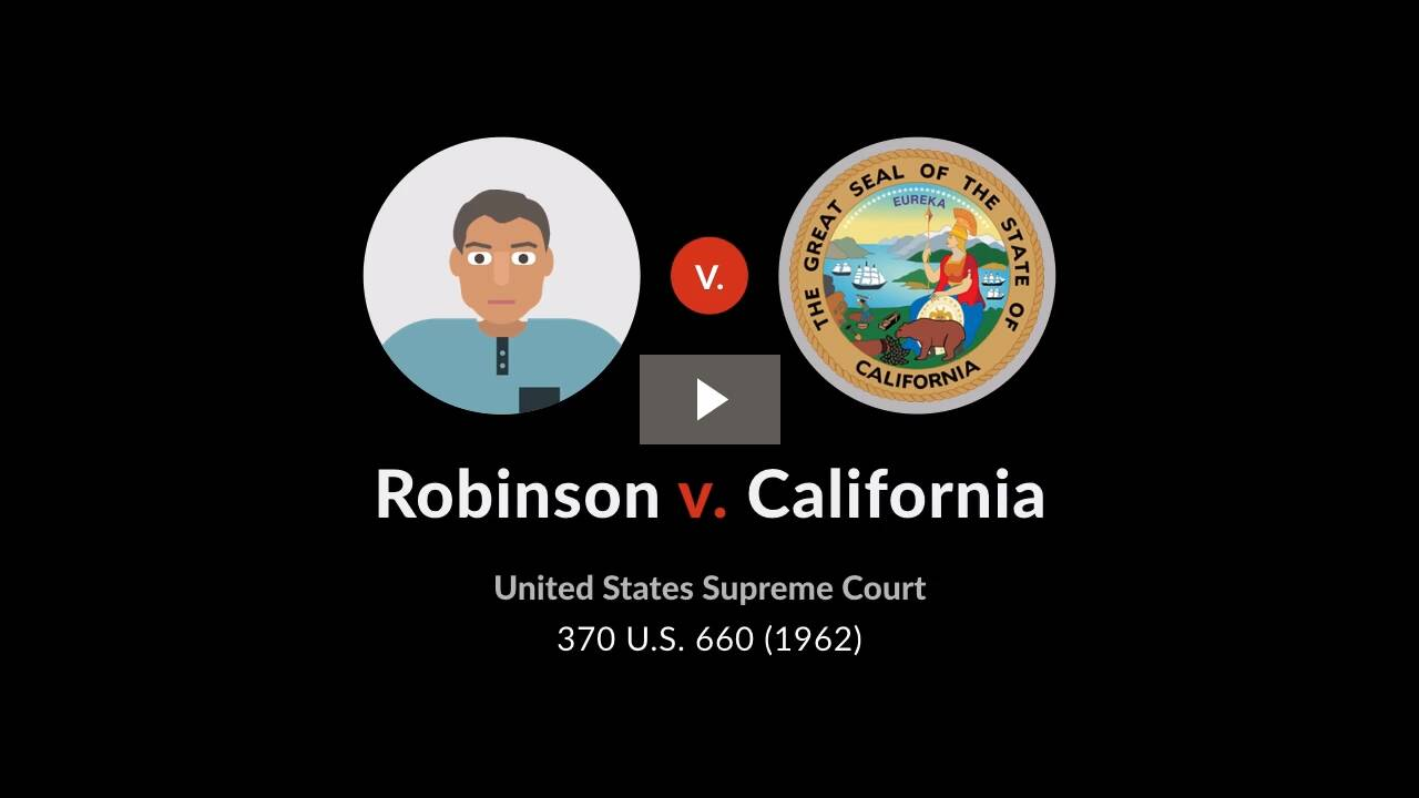 Robinson v. California
