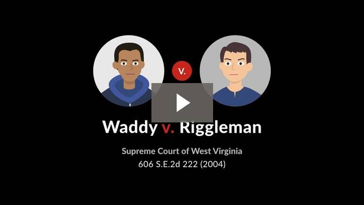 Waddy v. Riggleman