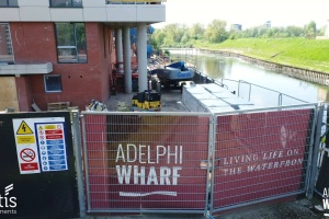 Adelphi Wharf Phases 1 & 2 - Drone Footage - May 2018