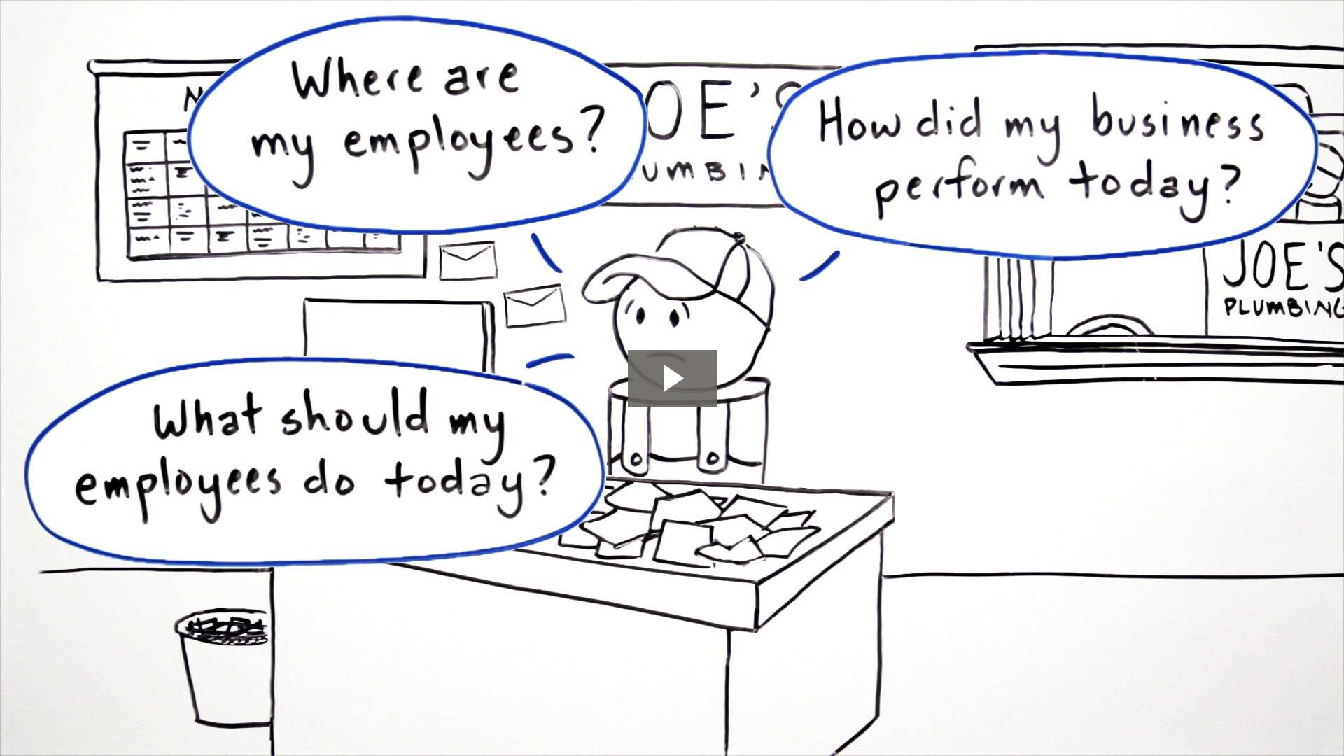 Watch how Joe the Plumber uses mobi to simplify his day.