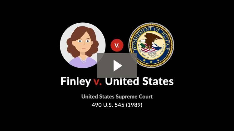 Finley v. United States