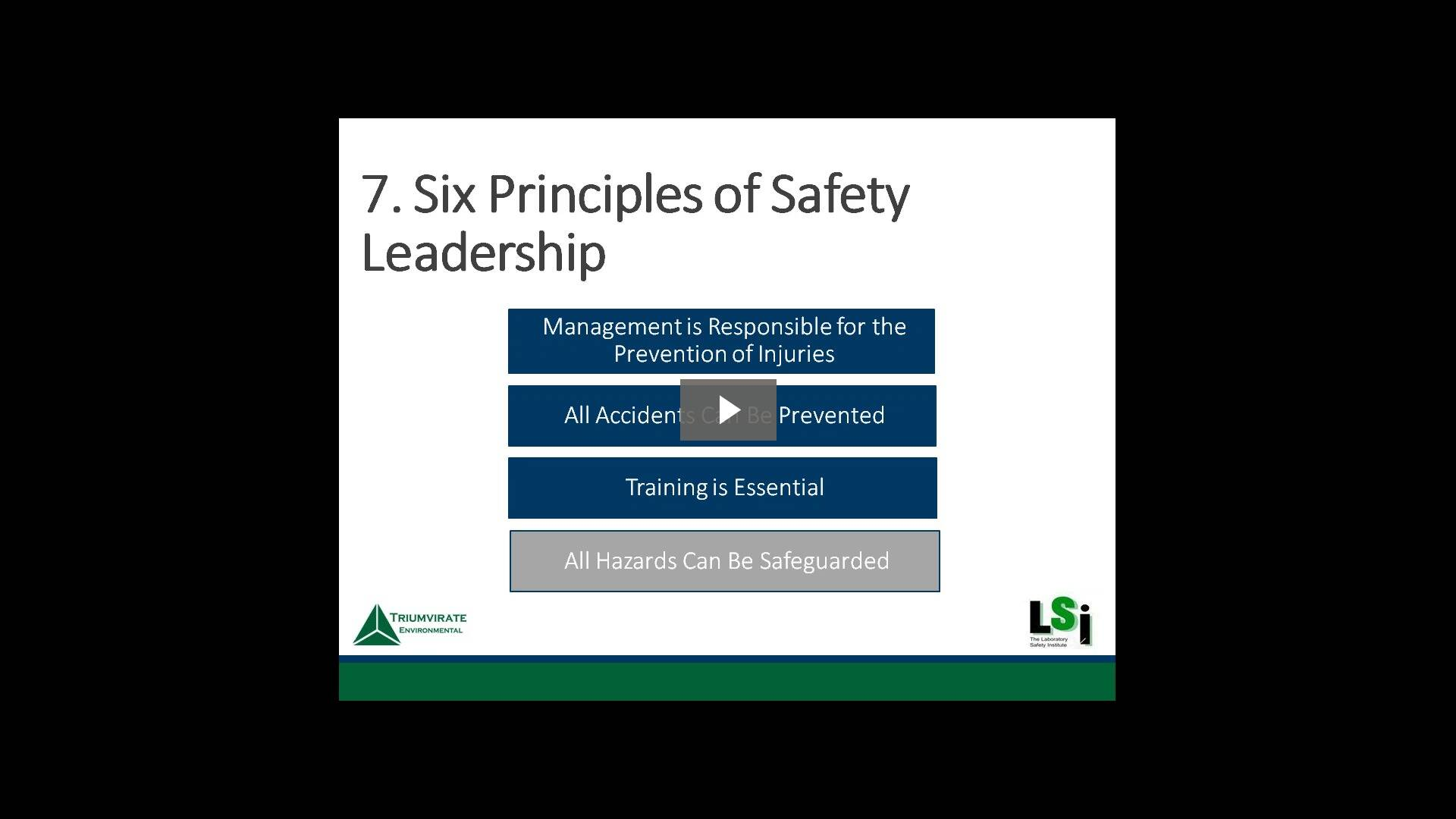 Webinar: 10 Components of a Highly Effective Lab Safety Program