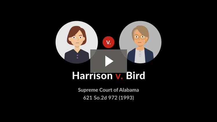 Harrison v. Bird