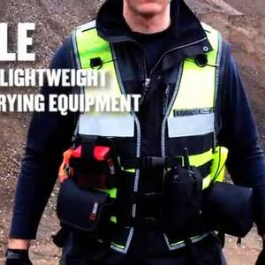 Ergodyne Product Video - Arsenal<sup>®</sup> 5599 Industrial MOLLE Vest - Shoulder Size Strap Pair