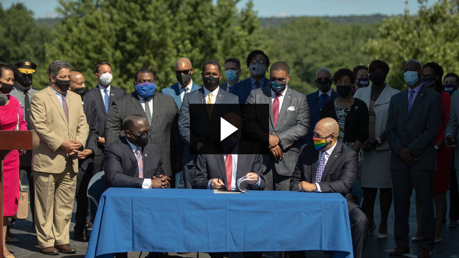 Gov. Wolf Signs Police Reform Bills :: July 14, 2020