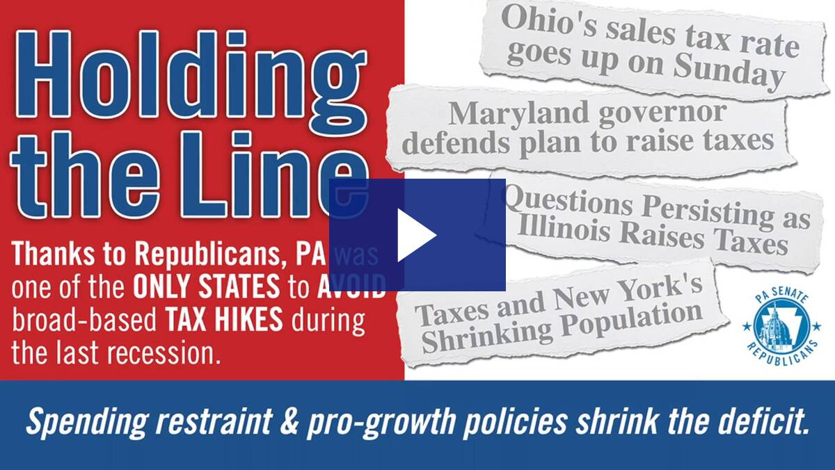 6/3/19 - Improving Economic Numbers in PA