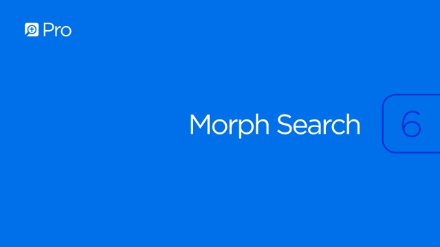 Morph Search