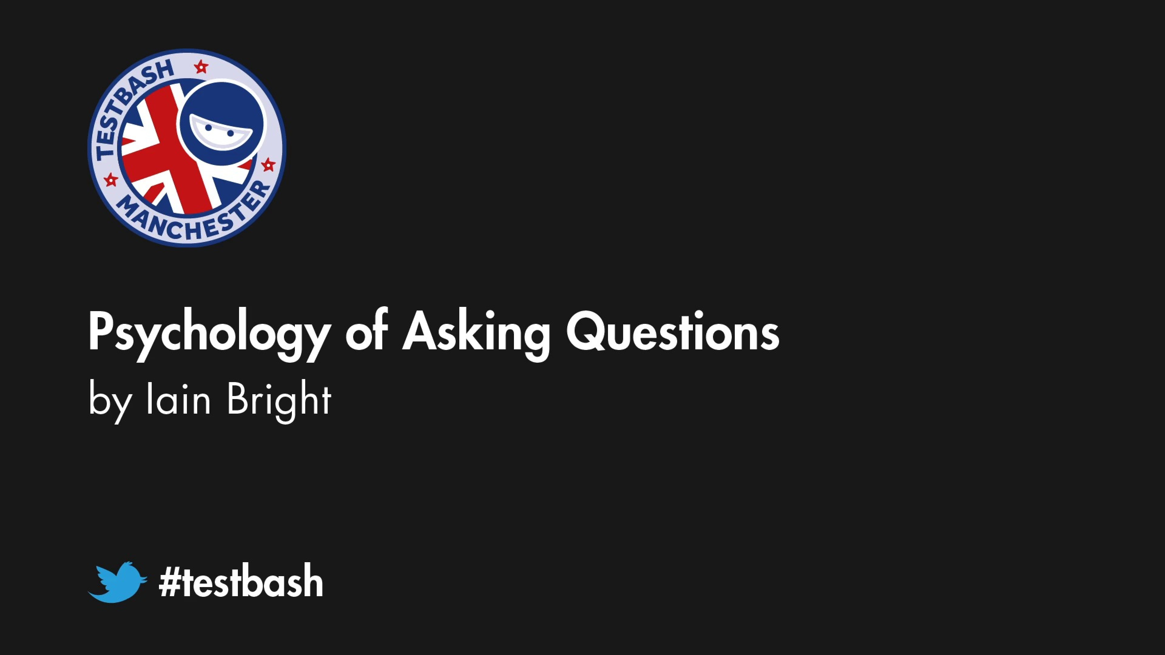 Psychology of Asking Questions – Iain Bright