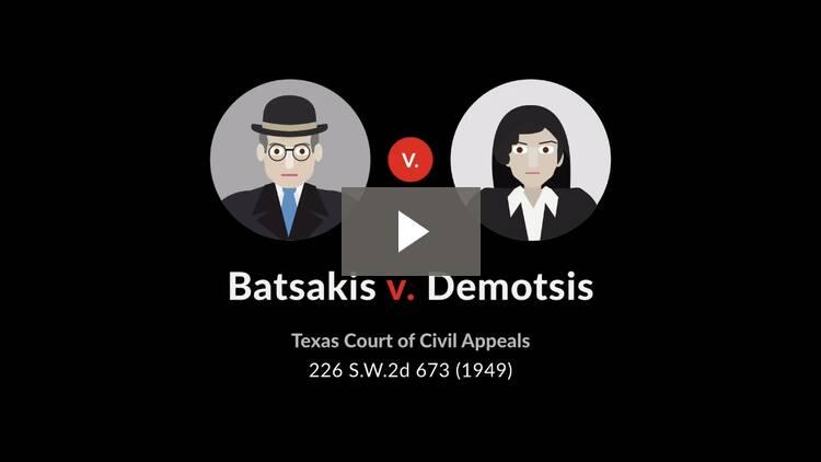 Batsakis v. Demotsis