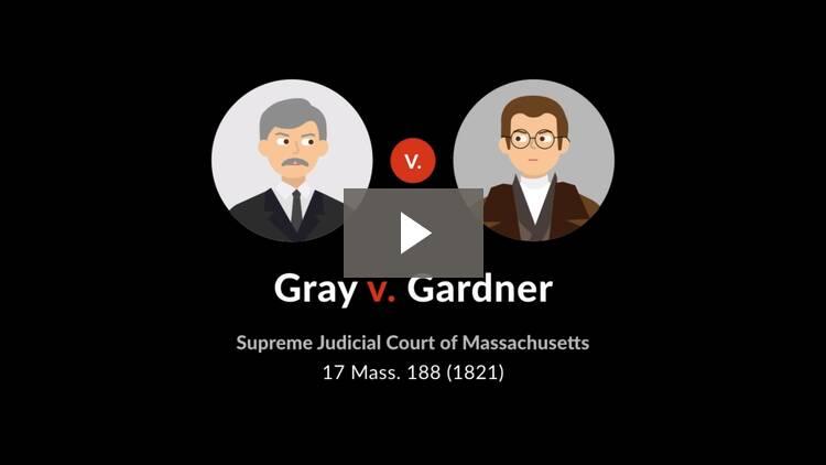 Gray v. Gardner