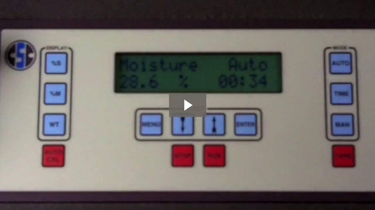 How to do a Digital Moisture Balance Test