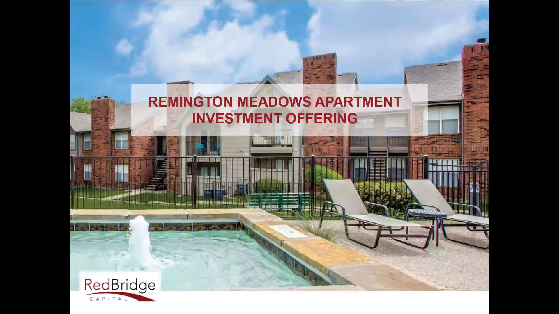 Investment Video - Remington Meadows Apartments