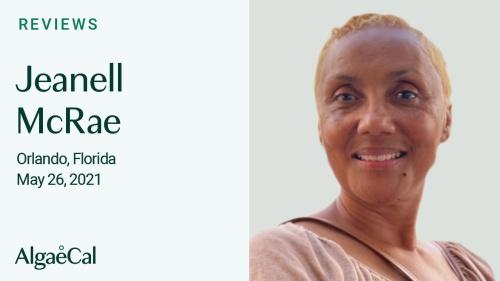 Testimonial thumbnail portrait of Jeanell McRae