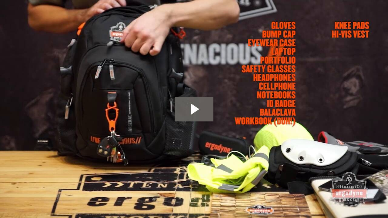 Ergodyne Product Video - Arsenal<sup>®</sup> 5144 Mobile Office Backpack