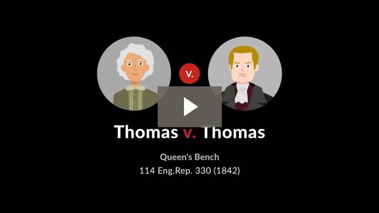Thomas v. Thomas