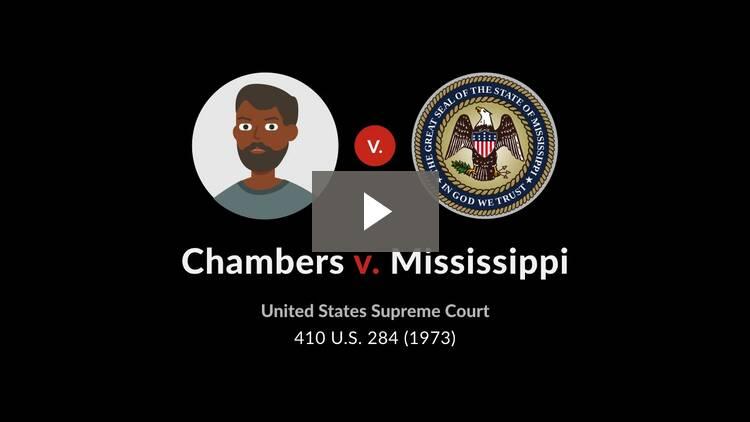 Chambers v. Mississippi