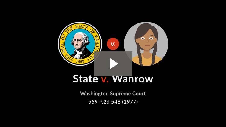 State v. Wanrow