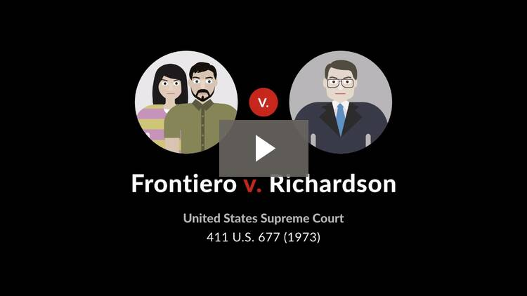 Frontiero v. Richardson