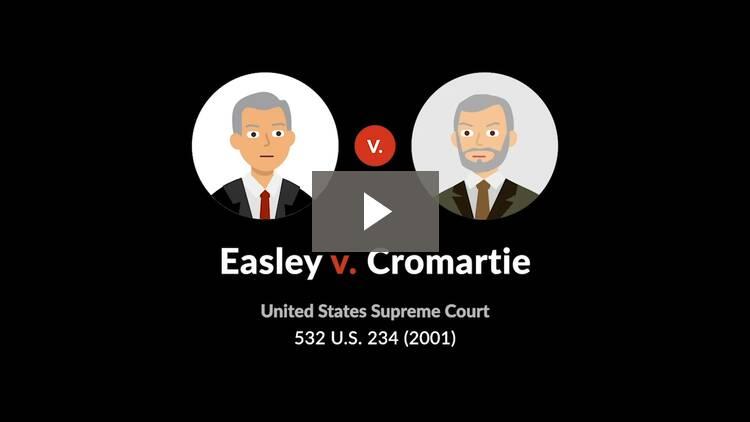 Easley v. Cromartie