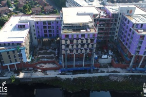 Adelphi Wharf Phase 1 - Drone footage - September 2017