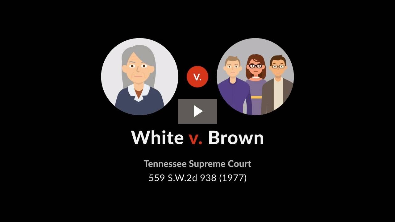 White v. Brown