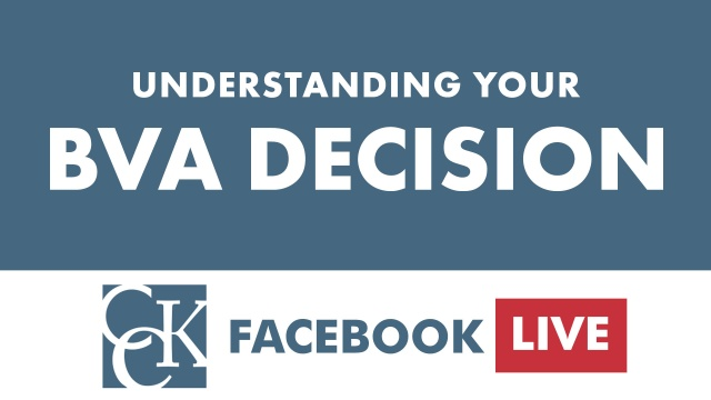 Understanding Your BVA Decision