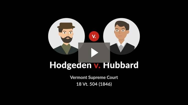 Hodgeden v. Hubbard